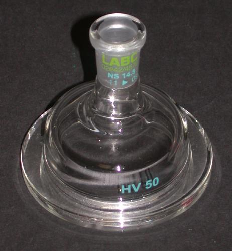 Deckel für Permeationszelle NW50